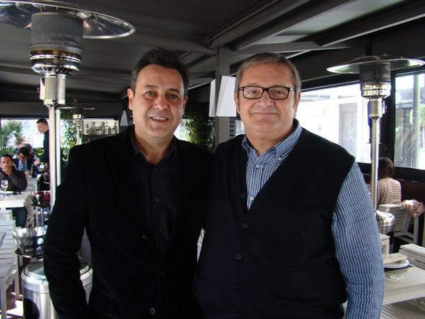Con Iñaki Oyarbide