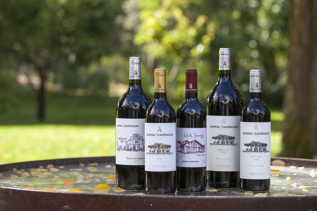Los vinos de Dehesa de los Canónigos superan los 90 puntos Parker