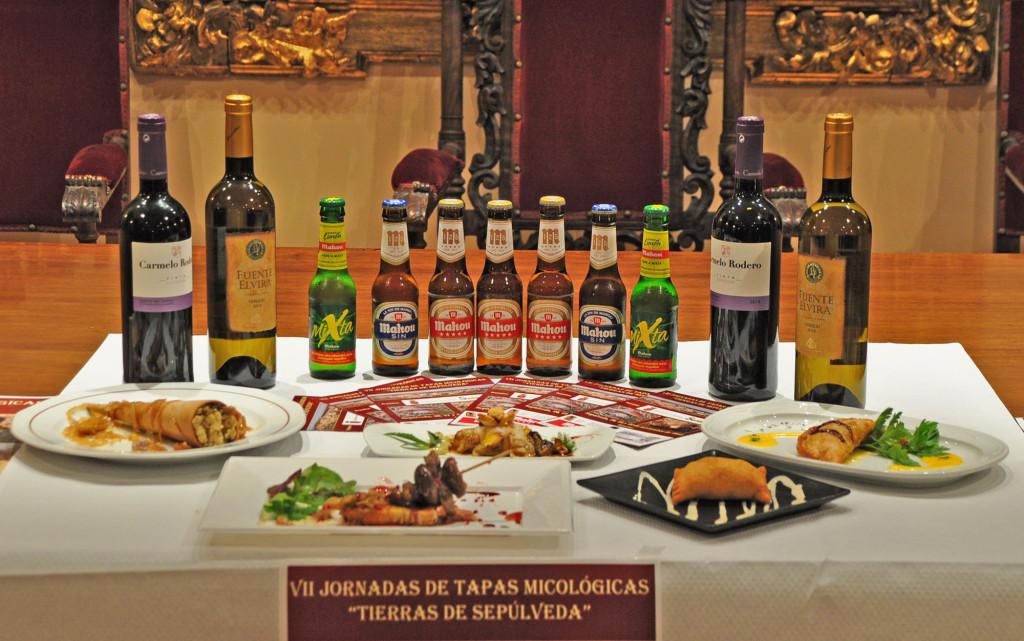 Variedad gastronómica en las tapas micológicas de Sepúlveda