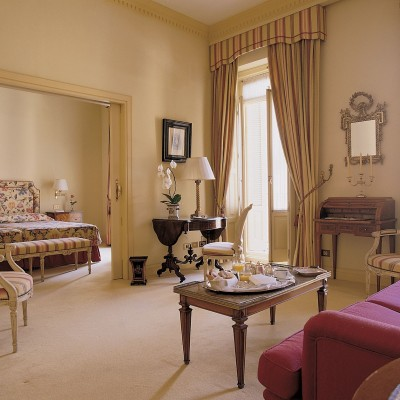 Suite de lujo del Hotel Orfila