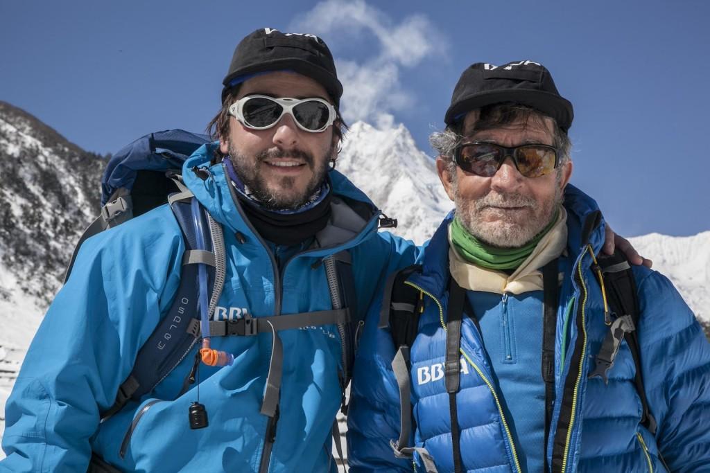 Jordi Roca y Carlos Soria presentan 'El heladero del Himalaya'