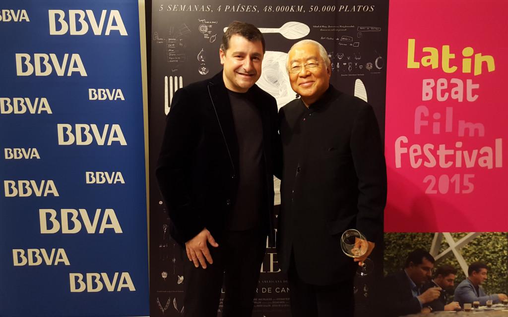 Josep Roca y Yukio Hattori