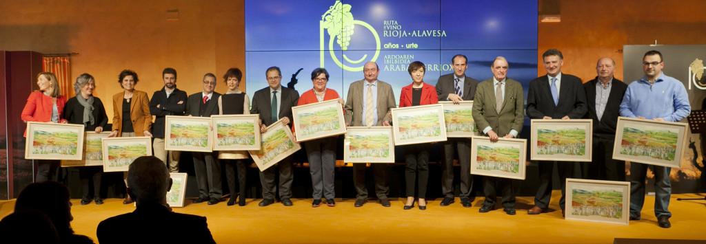 La Ruta de Rioja Alavesa celebra  sus Diez años de trayectoria