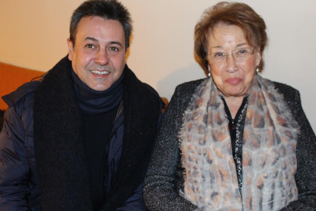 Con mi querida Marisa, el alma del Echaurren