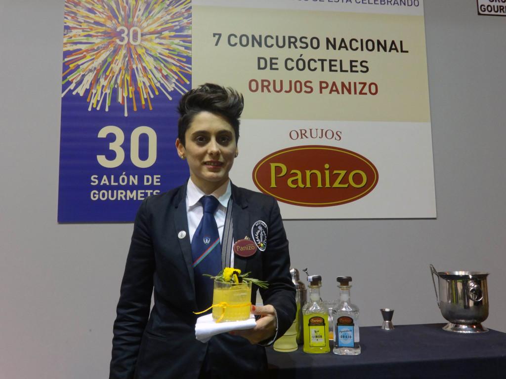 Séfora Polvillo, con su cóctel de 2000€