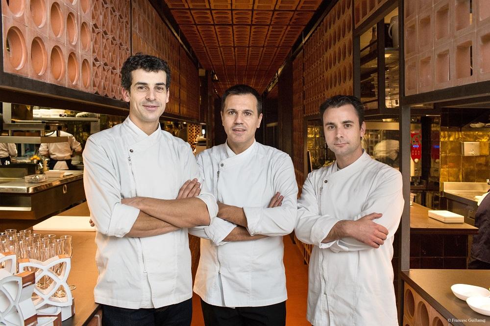 Mateu Casañas, Oriol Castro y Eduard Xatruch. Fotografia: Francesc Guillamet.