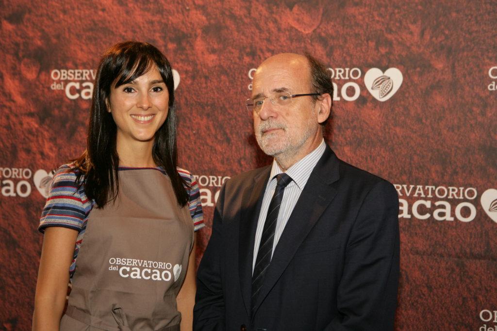 Nuria Roura y Dr Estruch