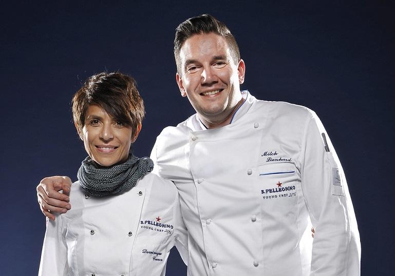 La chef mentora de Mitch Lienhard ha sido Dominique Crenn.