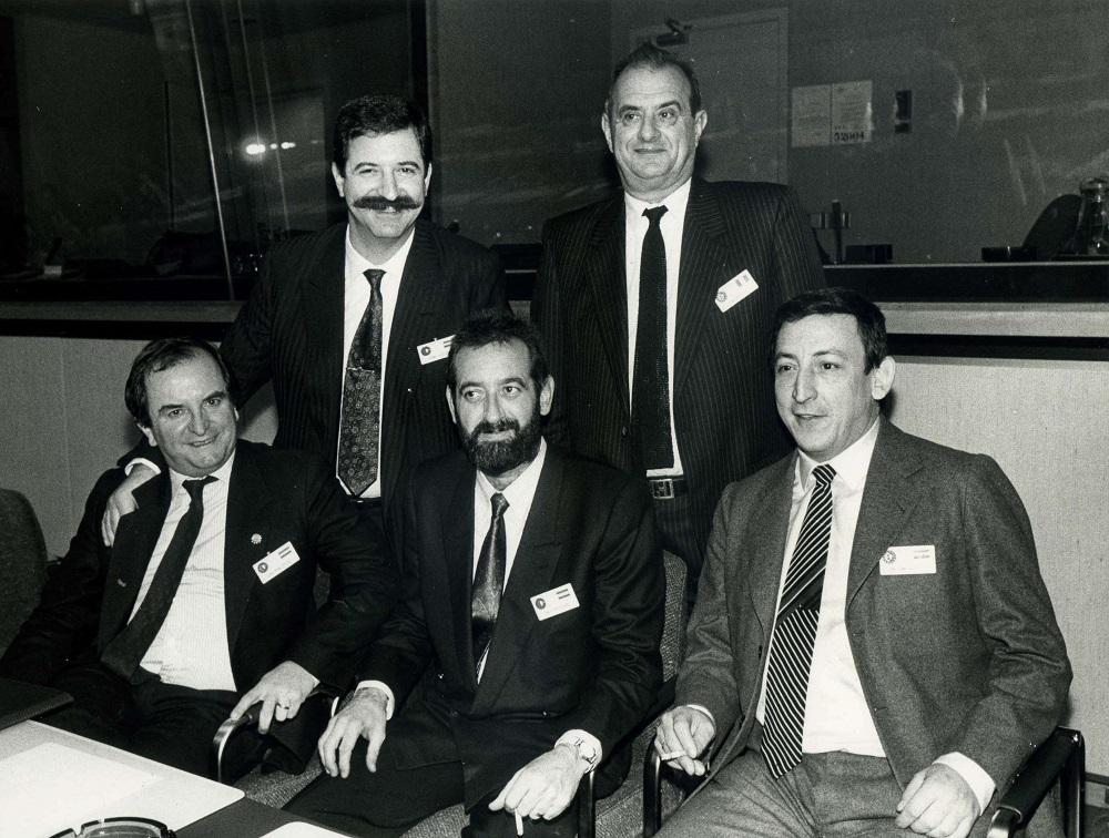 Los cuatro impulsores de la asociación Euro-Toques son Pedro Subijana, Juan Mari Arzak, Karlos Arguiñano y Juan José Castillo