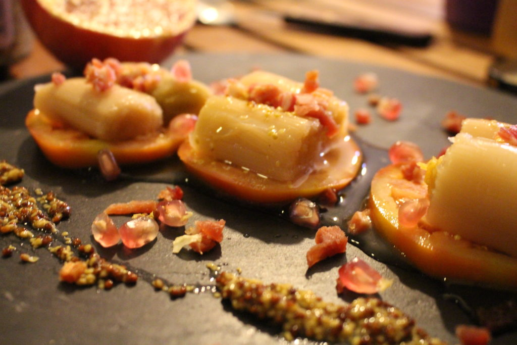 Tapa del día: Ensalada de puerros en vinagreta de mostaza