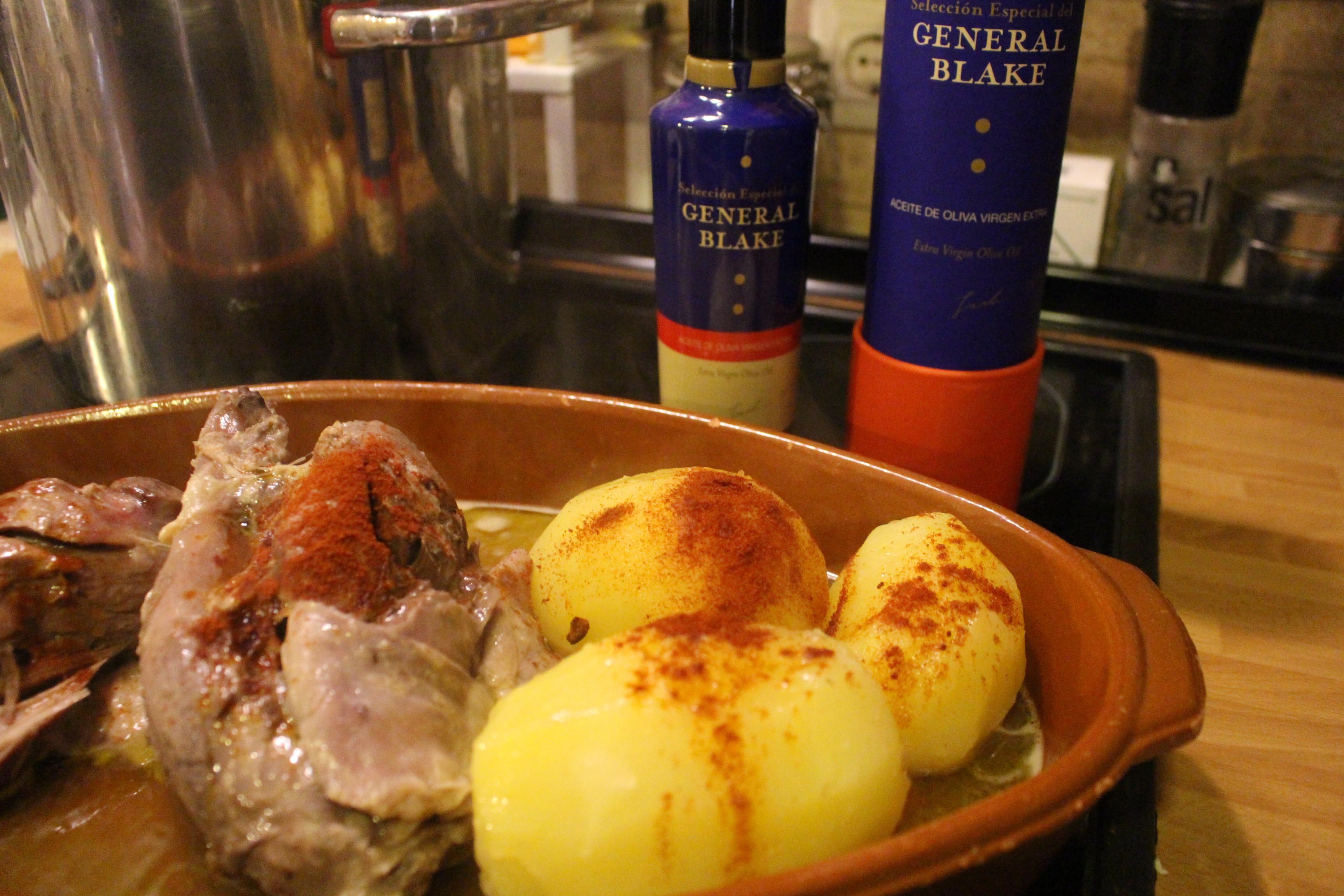 Receta gallega: Carne ó Caldeiro