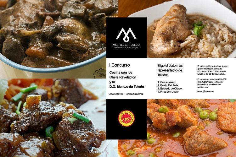 Perdiz estofada con aceite DO Montes de Toledo,   el plato favorito de la Capital de la Gastronomía 2016