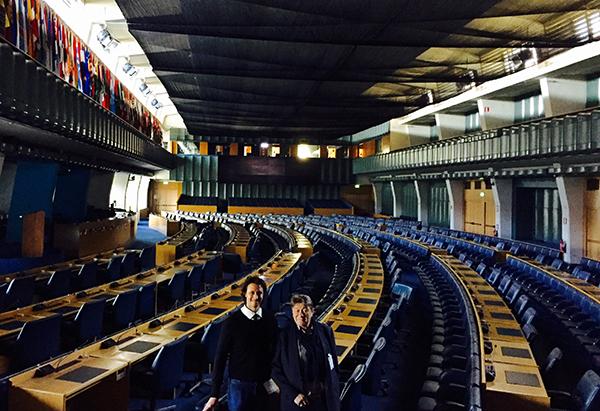 Presentación  del libro oficial del Año Internacional de las Legumbres  de Naciones Unidas y de la iniciativa  Madrid, Plaza Mayor de las Legumbres