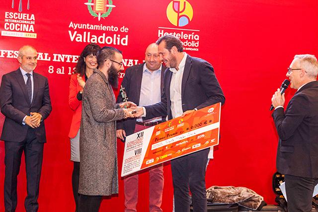 Alberto Montes Pereira, del Restaurante Atrio de Cáceres, se alza con la victoria