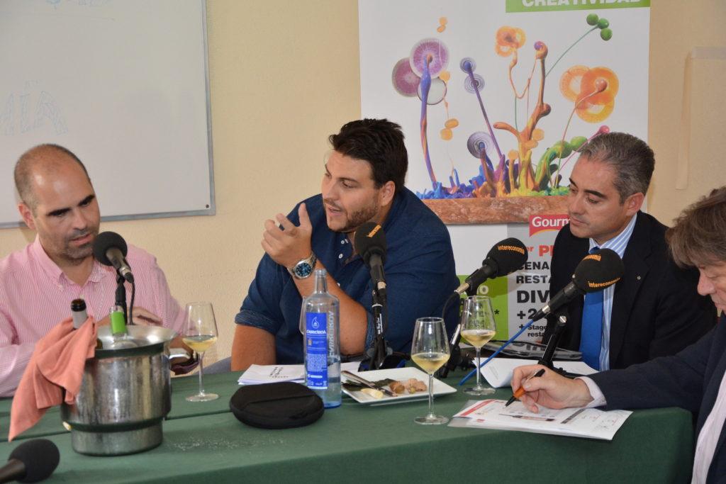 Xanty Elías, embajador de GMcash, chef y propietario del restaurante Acánthum de Huelva