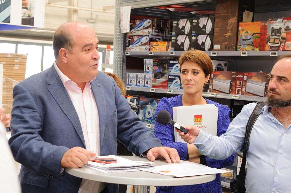 Antonio Colsa, director de ventas de GMcash en Andalucía y académico de la Junta Directiva de la Academia Andaluza de Gastronomía y Turismo.