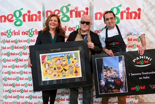 Negrini premia en Ma drid Fusión a Vitor Cunha, de la Pizzería Forneria de Lisboa