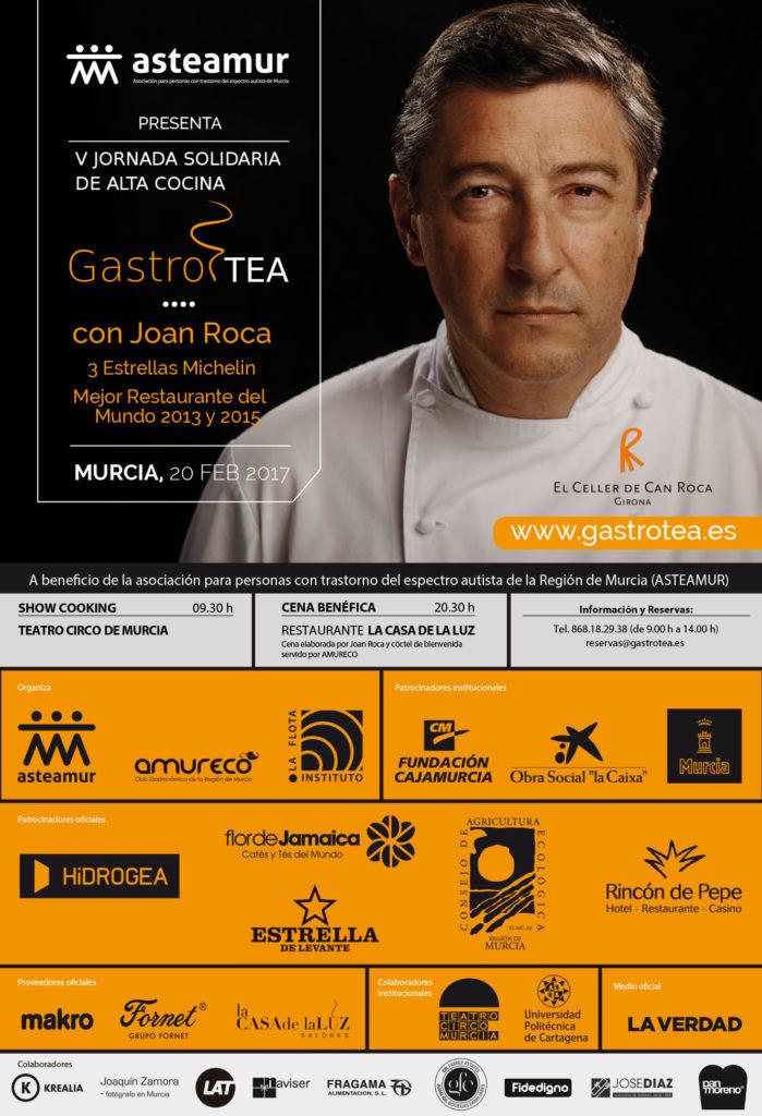 Joan Roca cocinará para niños con autismo