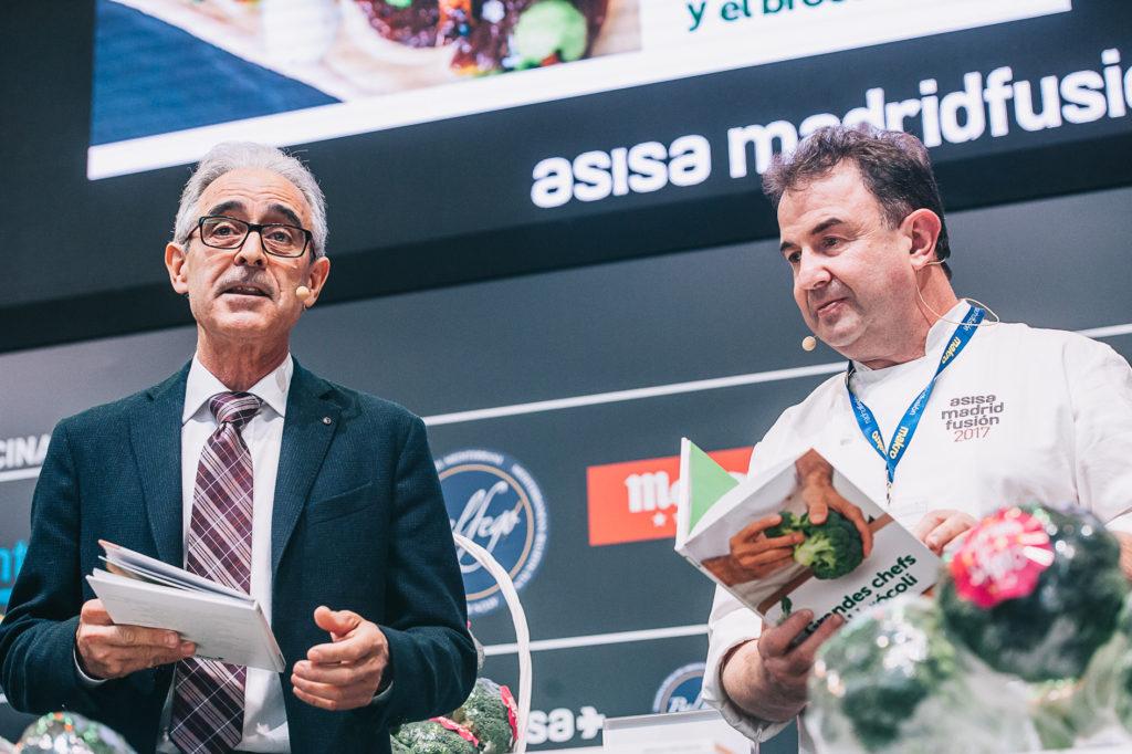Javier Bernabéu, Secretario de Brócoli y Martín Berasategui