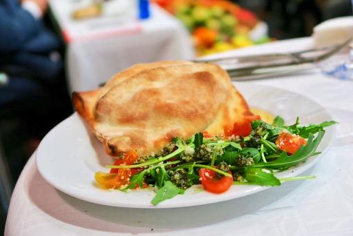 Plato ganador de Vitor Cunha, de la Pizzería Fornería de Lisboa, por su receta Hamburguer Italiano