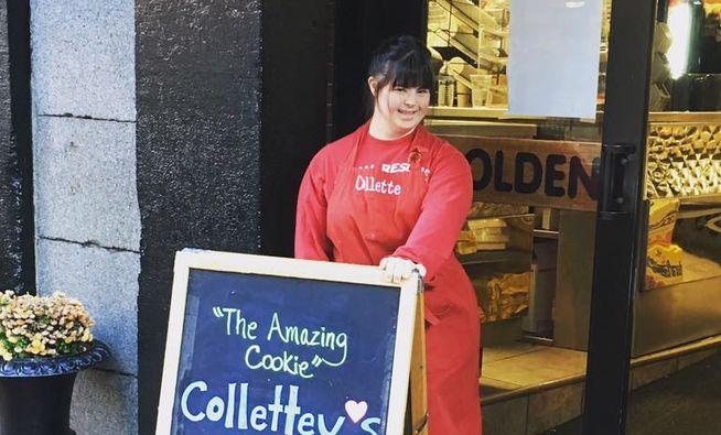 Collette Divitto en su panadería