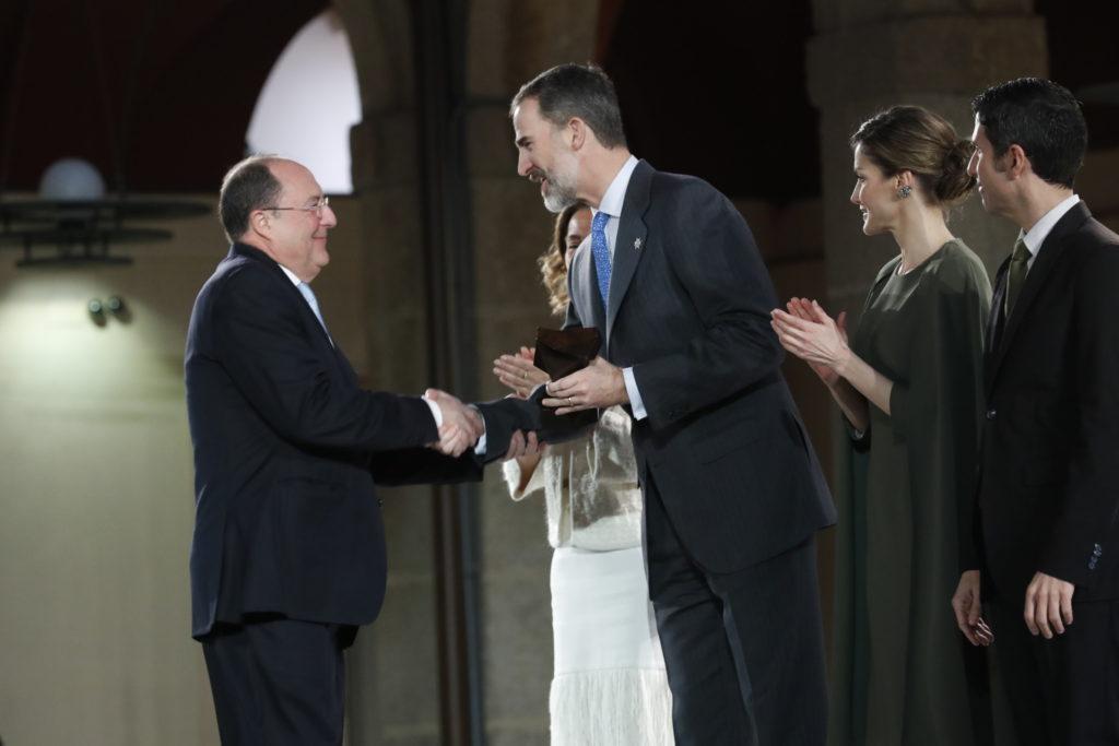 Carlos Moro, presidente de Grupo Matarromera, condecorado con el Premio Nacional de Innovación