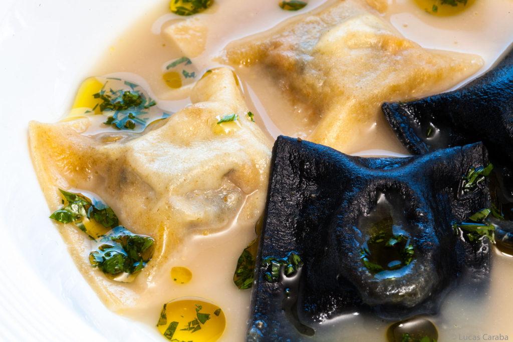 Parador de Soria: Raviolis de Foie y Trufa Negra