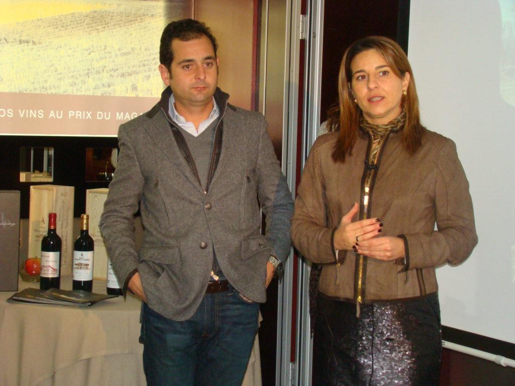 Iván Sanz, gerente y Belén Sanz, enóloga Dehesa de los Canónigos