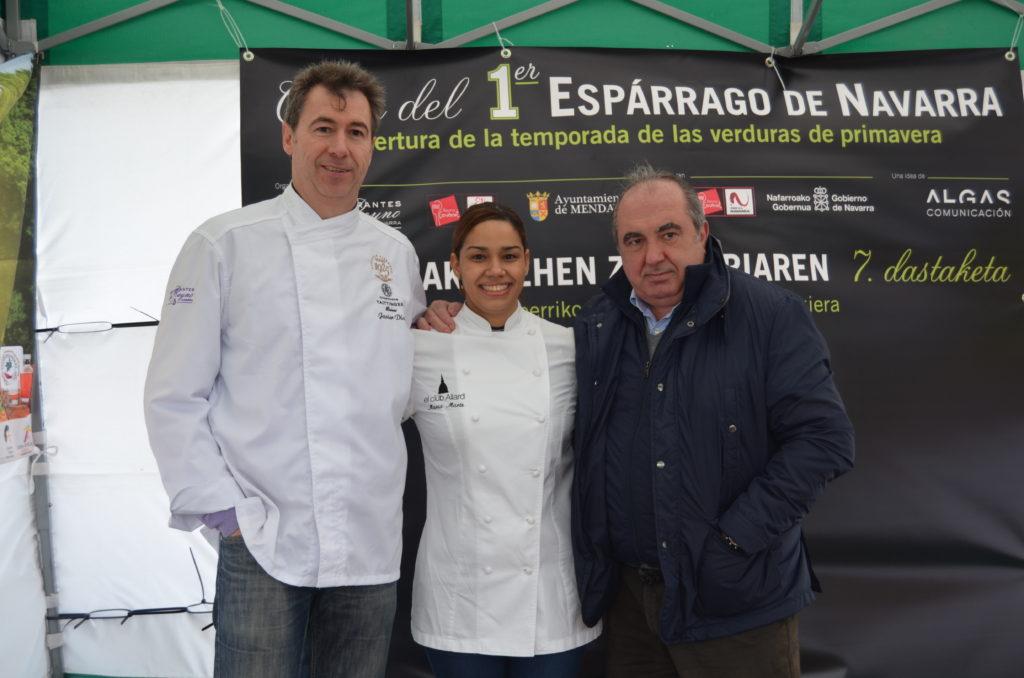 Se ha catado en Mendavia, Navarra, el primer espárrago de la temporada