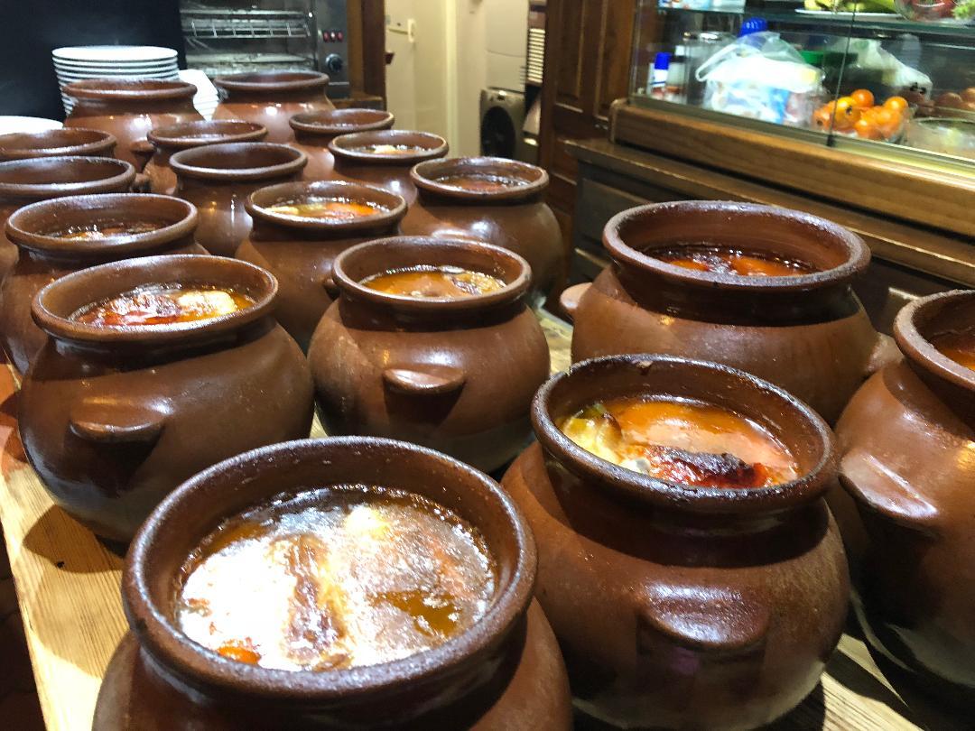 Cocido madrileño en el Toril